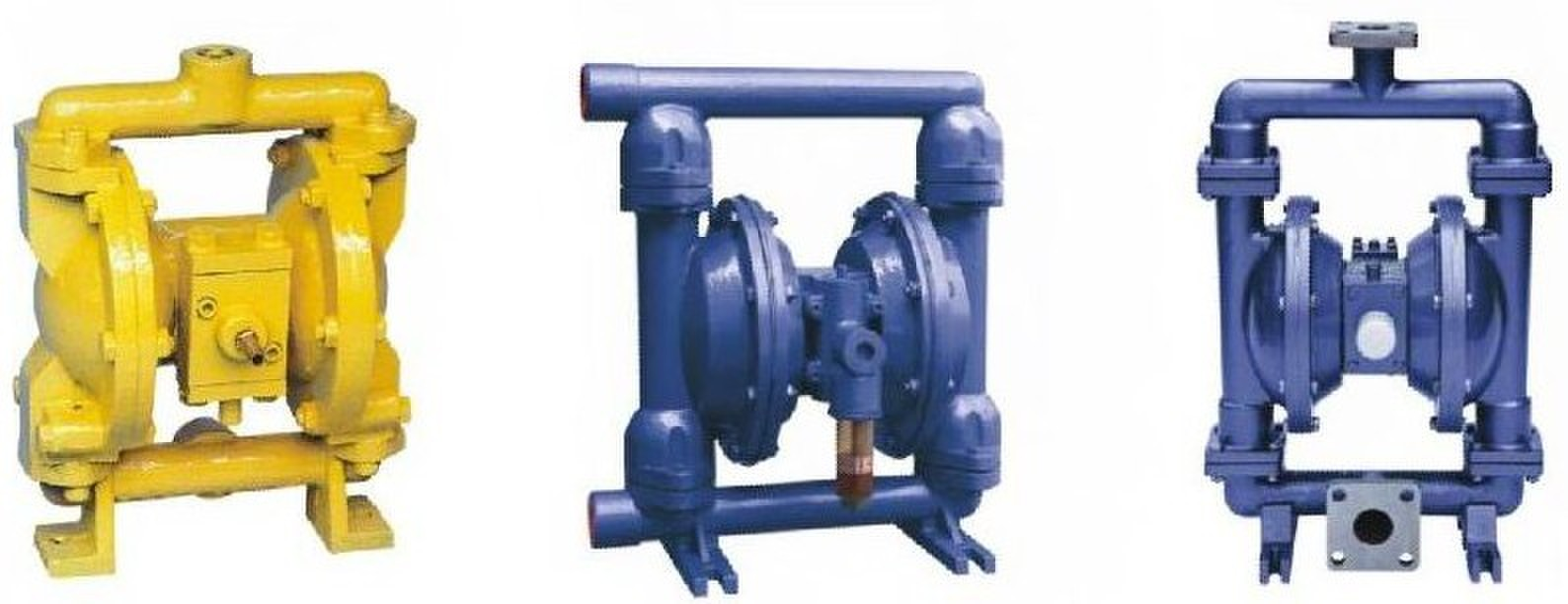 QBY型气动隔膜泵说明书