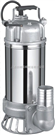 WQ(D) 全不锈钢污水污物潜水电泵/无堵塞不锈钢潜水排污泵