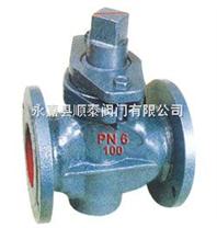 X43W-10二通铸铁旋塞阀