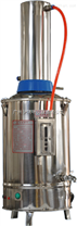 博讯自动断电蒸馏水器、YN-ZD-Z-5不锈钢电热蒸馏水器