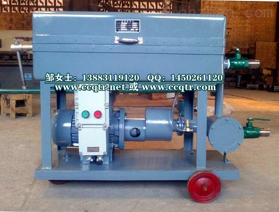 BK-F-100压力式板框滤油机/防爆型