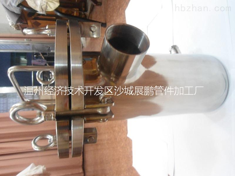 供应卫生级304不锈钢篮式过滤器