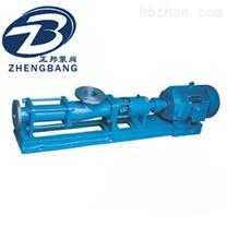 G型单螺杆泵G40-2轴不锈钢