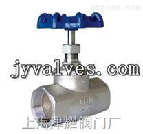 不鏽鋼螺紋截止閥J11W-16P