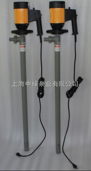 HP-E2-V PPHTPP便携式耐酸插桶泵