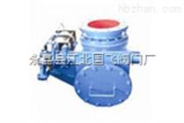 XHQ648MX-10气动钟阀-球面偏置式气动钟阀