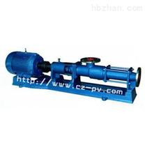 诚展泵阀G型不锈钢单螺杆泵