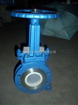气动陶瓷刀闸阀 PZ73TC薄型陶瓷排渣浆液阀