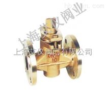 二通全铜旋塞阀X43W-10T