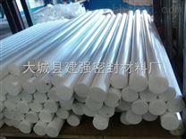 河北供应直径100mm四氟棒 白色聚四氟乙烯棒厂家