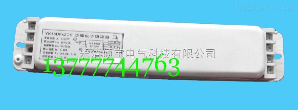 YK18DF×2CS防爆荧光灯电子镇流器新黎明型号