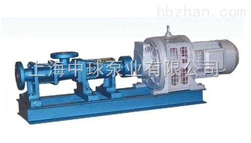 G型电磁调速单螺杆泵