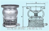 台湾荣牌不锈钢底阀