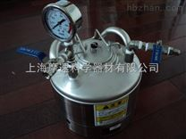 日本清洁度检测轻型压力罐5L 配压力表,球阀,安全阀