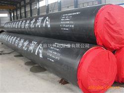 山东烟台预制直埋钢管管道保温现场施工