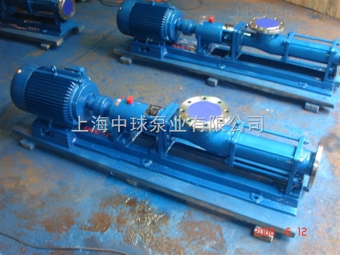 G25-2单螺杆泵