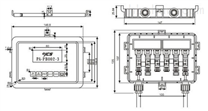 晶硅光伏接线盒(PV-CY802-E)