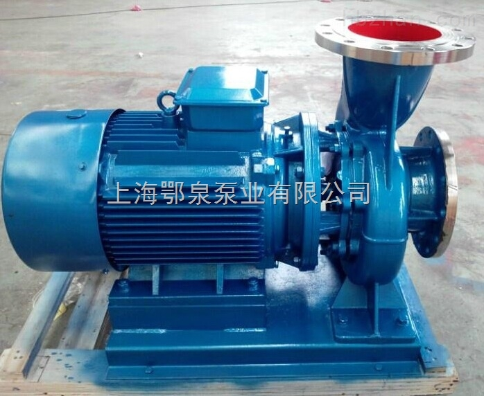 卧式热水管道泵