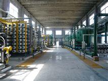 自清洗盘式过滤器+超滤(UF)+反渗透(RO)+电去离子(EDI)全膜法水处理系统