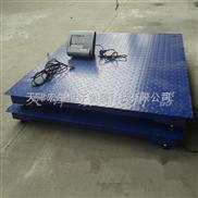 """西青高精度2吨电子称""""尺寸1.5米乘以1.5标准地磅称"""""""