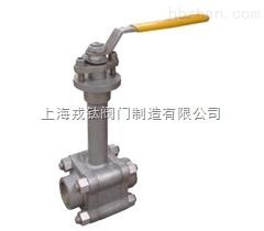DQ15P4N锻钢低温球阀