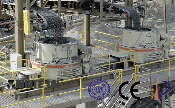 WL系列高效复合圆锥破碎机本体为箱形铸钢件整体结构,在重载部位高应力点设有加强筋。该圆锥破是利用现代CAD技术进行设计的,且所有型号都经有限元技术分析,以确保内部应力水平在合适的范围内,最终使WL 系列高效复合圆锥破具有结构强度高、设备稳定运行的特点。 圆锥式破碎机主要特点: (1)液压系统   该机具有用液压系统来调整破碎机排矿日的大小,液压系统可有效地保证设备的安全运转。在破碎腔中有异物时,液压系统可使动锥体自动下退,当异物排出后,该系统使下退的动锥体自动复位。重新保持原来的排矿口位置继续工作。 (2