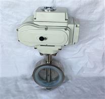 D971X電動對夾衛生級蝶閥