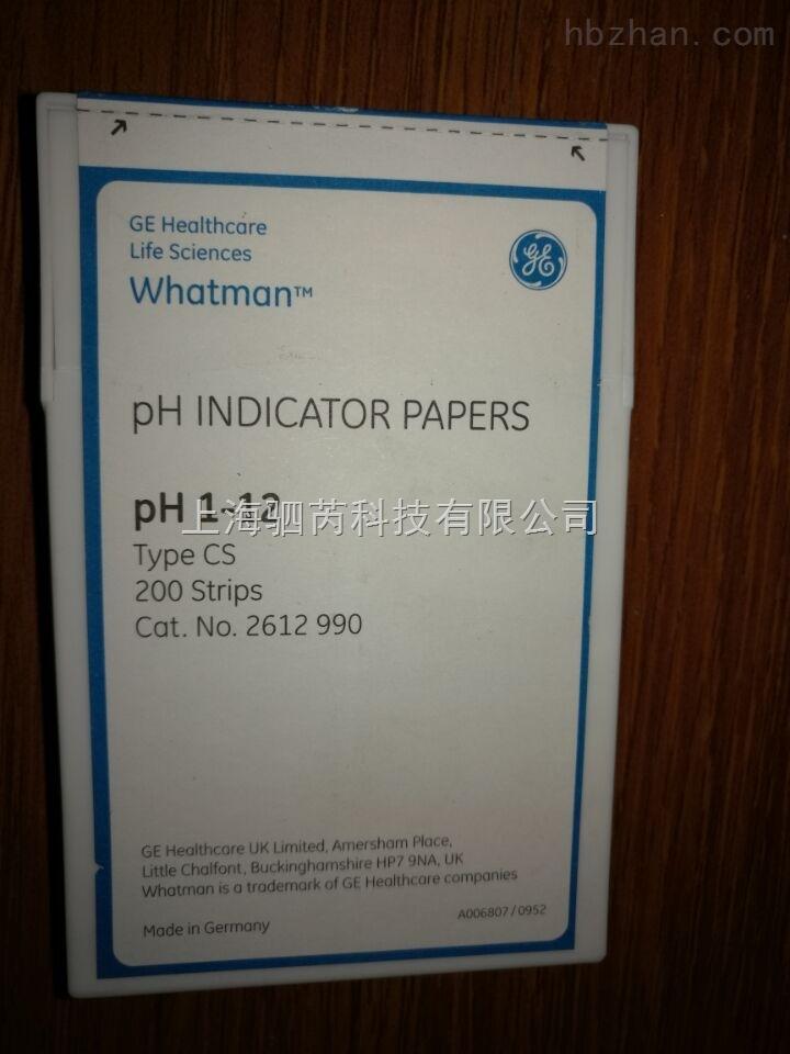 whatmanPH试纸2612-990