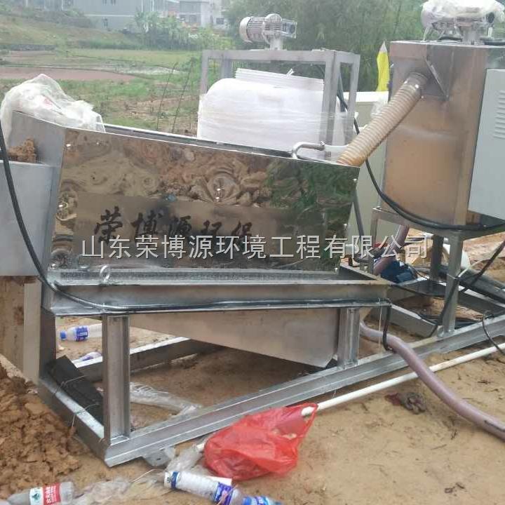 叠螺式污泥压滤机作用污泥脱水能力强