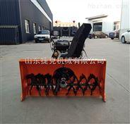 鹤岗市手推式抛雪机图片 扬雪机种类规格 捷克清雪机