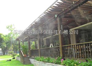 青海住宅區噴霧降溫工程噴霧加濕系統產品報道