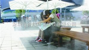 成都商业街降温设备降温加湿系统