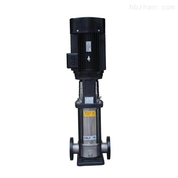 立式多级离心泵-节能