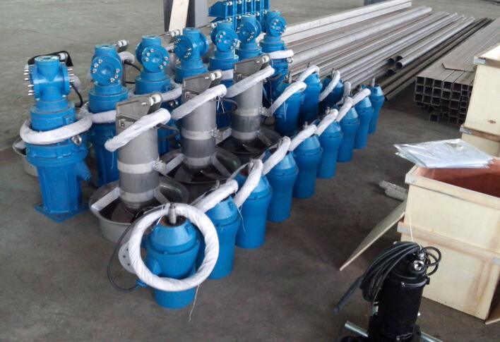 qjb0.37/4-230/3-1400小功率潜水搅拌机