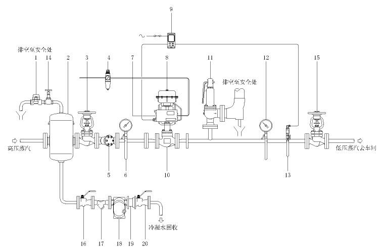 电压降测试电路简图