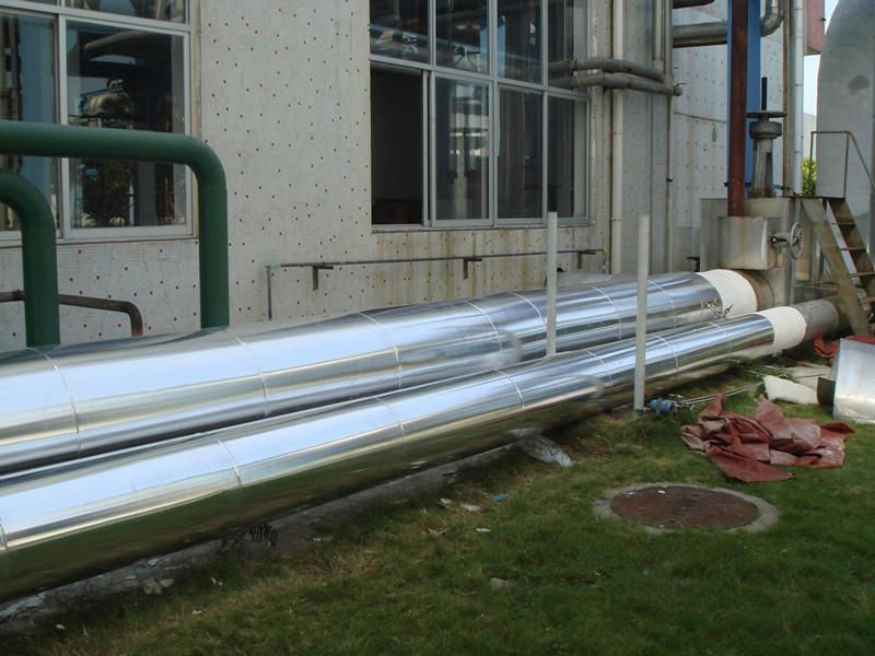 ...直销铁皮保温管道设备施工 河北富民聚氨酯发泡机械设备厂