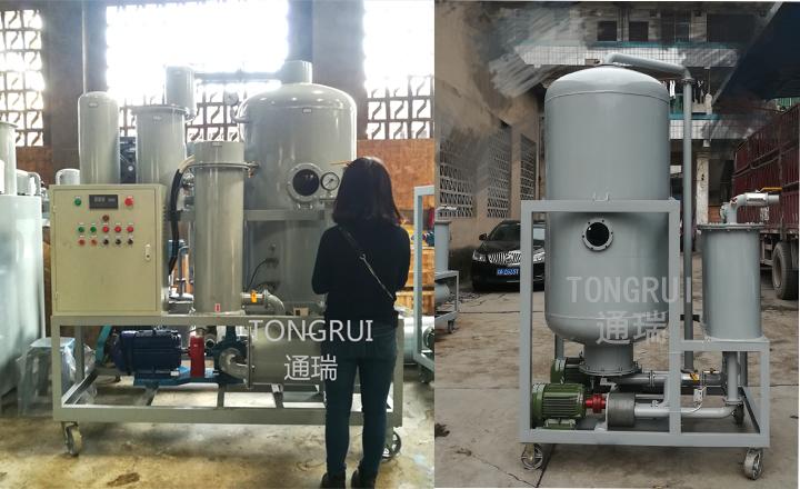 液压油再生脱色滤油机