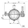 CD7Q41X水轮机阀门成套装置,蝶阀