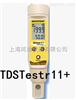 TDSTestrs11美国Eutech优特防水型总溶解固体量(TDS)测量仪TDSTestrs11+